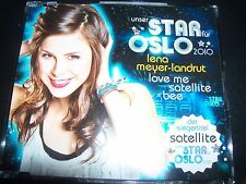 Lena Meyer-Landrut Maxi-CD Love Me / Satellite Eurovision 2010 CD Single