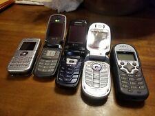 Lot 5 Nokia, lg sprint, samsung alltel, Motorola Nextel UNTESTED