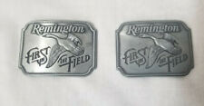 Remington First in The Field Canada Goose Belt Buckles