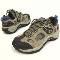Merrell Chameleon Women's Hiking Shoes Gore-Tex Beige Leather Sz 7.5 Eu38 Vibram