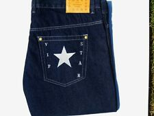 BLACK JEANS WITH SILVER STAR NEW FASHION