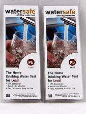 2 x Lead in Water Test Kits by WaterSafe, Fast, Easy Lead in Water Test, 2 Tests