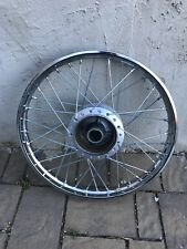 HONDA CL70 SS50 CD50 CD65 CD70 ALUMINIUM FRONT + REAR WHEEL - NEW