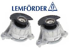OEM Engine Motor Mount Hydraulic Set Lt & Rt 2pc Lemforder Mercedes E400 E550