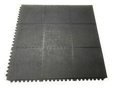 Rubber Gym Floor Tiles | Heavy Duty 16mm Thick Interlocking 900 x 900mm