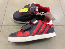SHOES SCARPE BAMBINO INFANT ADIDAS DISNEY MICKEY E FRIENDS V22153 NAVY/RED