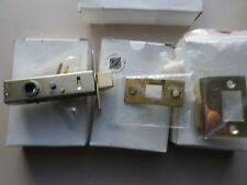 4 new door latch and plate sets