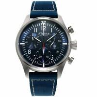 Alpina Geneve Men's Quartz Startimer Pilot Chronograph 42mm Watch AL-371NN4S6