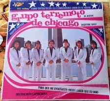 """""""Tejano Tex-Mex""""   """"Grupo Terremoto De Chicago""""  """"Como Tantas Veces""""    """"SEALED"""""""