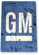 TIN SIGN GM Retro General Motors...