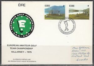 Ireland Scott 371-2 FDC - European Amateur Golf Championship