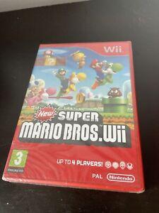 New Super Mario Bros. - Nintendo Wii New & Sealed