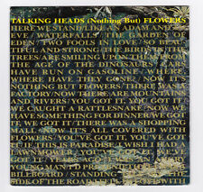 SP 45 TOURS TALKING HEADS (NOTHING BUT) FLOWERS EMI 006 20 2527 7 en 1988