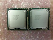 LOT OF 2 INTEL XEON E5540 SLBF6 2.533GHZ 5.86GT/s 8MB QUAD-CORE LGA1366 TESTED
