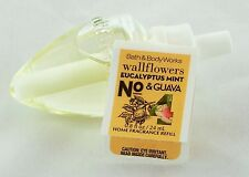 Eucalyptus Mint Guava No.4 Fragrance Wallflower Refill Bath Body Works 0.8oz NEW