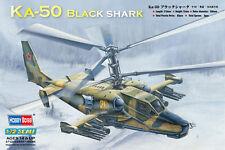 Hobby Boss Kamov KA-50 Noir Queue N°22 & 21 Russie modèle-kit 1:72