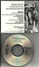DICK DALE Misirlou ULTRA RARE PROMO DJ CD Single PULP FICTION Uma Thurman 1994