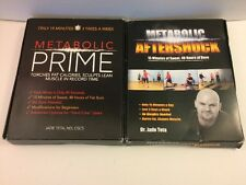 Metabolic Prime & Aftershock Workout Plans and Meal Tracking System, Health DVD