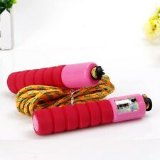New Skipping Speed Rope Adjustable Weighted Fitness Workout Jumping With Counter
