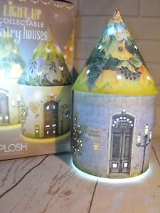 Fairy House LIGHT UP HOME LED FAIRY HOME MANTEL LIGHT Battery Hone Light Decor