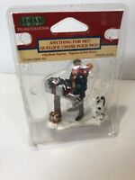 Vintage Lemax Christmas Figurine 2000-Anything for Me- Dog Mailbox