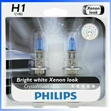 Headlight Bulb-CrystalVision Ultra-Twin Blister Pack Philips 12258CVB2