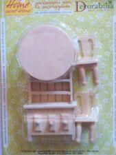 kit cucina in legno decorare tegole terracotta e presepi decorabilia decoupage