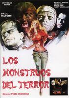 LOS MONSTRUOS DEL TERROR  (DVD PRECINTADO IMPORTACION) PAUL NASCHY TERROR