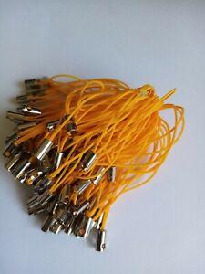 100 Pale Orange Mobile Cord Lanyard Lariat (no jump ring)