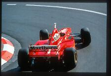 Irvine. Ferrari F310. GP Monaco, 1997. Vintage F1 slide/diapo S595