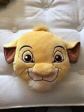 Simba The Lion King Disney Store Cushion Pillow Plush Soft Toy