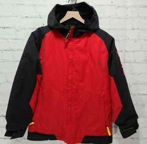 RIDE Snowboards Strata HD 10, Youth Large 14-16 Ski Coat Red Black          A81