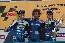 Sete Gibernau Hand Signed Telefonica MoviStar Honda 12x8 Photo MotoGP 6.