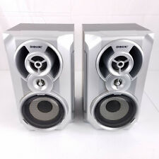 *Loud* Sony Silver Bookshelf Speakers (Ss-Rg55) from Mhc-Gx20