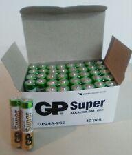 40 Pilas AAA  Super alcalinas. Pila alcalina LR03 GP