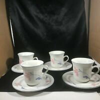 Set of 4 Citation AVONLEA Cups and Saucers