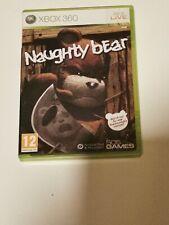 Naughty Bear Microsoft Xbox 360 Game
