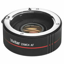 Vivitar Series 1 2XMC4 AF Teleconverter For Nikon with caps