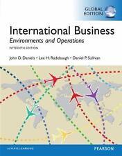 International Business, Global Edition by Daniel Sullivan, Lee H. Radebaugh and