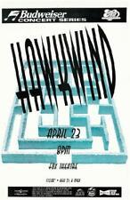 HAWKWIND FOX BOULDER COLORADO CONCERT POSTER 1995