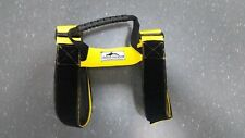 THE LARGER CYLINDER TANK YELLOW CARRIER CARRY STRAPS WITH A MOULDED HANDLE