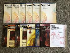 Suzuki Violin and Piano Accompaniment Books Multiple Volumes