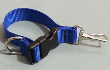 Sav-A-Jake Firefighter Glove Strap - Quick Release Clip - Blue