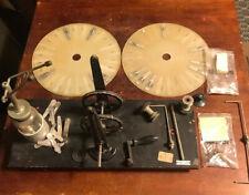 RARE VINTAGE WIMSHURST STATICELECTRICITY  MACHINE ELECTROSTATIC GENERATOR WELCH