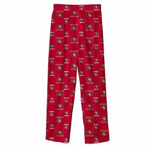 BNWT San Francisco 49ers Boys Youth Sleep Pajama Pants (S) Small Jersey Shirt