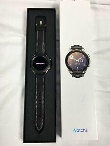 Samsung - Galaxy Watch3 Smartwatch 41mm - Mystic Silver - SM-R850NZSAXAR