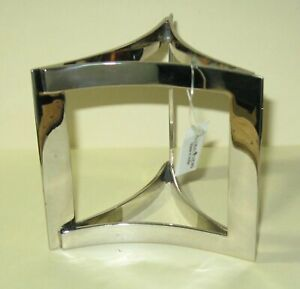 """Global Views Overlap 4"""" BALL/GLOBE STAND (Lighttrends #9.91476) - Made in India"""
