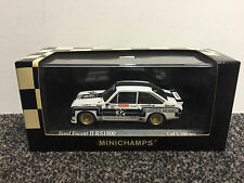 FORD ESCORT II RS 1800 ADAC Supersprint DRM 1976 Ludwig #32 1:43 Minichamps