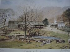 ALAN INGHAM 'LAKELAND FARMSTEAD' LIMITED EDITION PRINT.  SALE