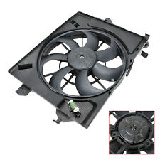 Fits 2012-18 Kia Rio Hyundai Accent Veloster Condenser AC Radiator Cooling Fan